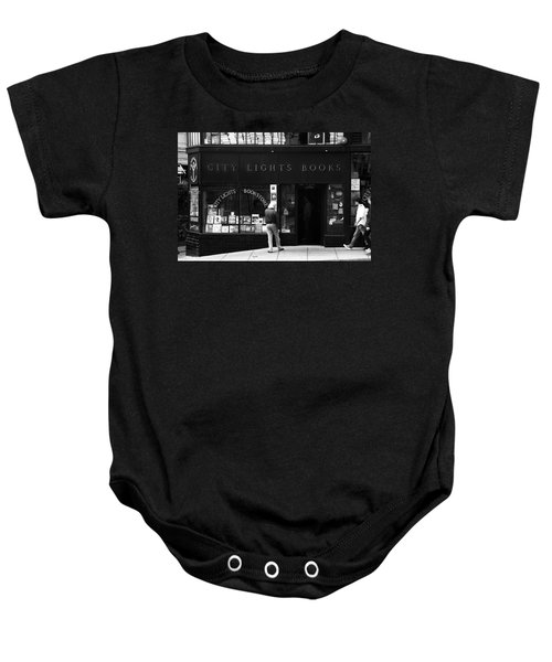 City Lights Bookstore - San Francisco Baby Onesie