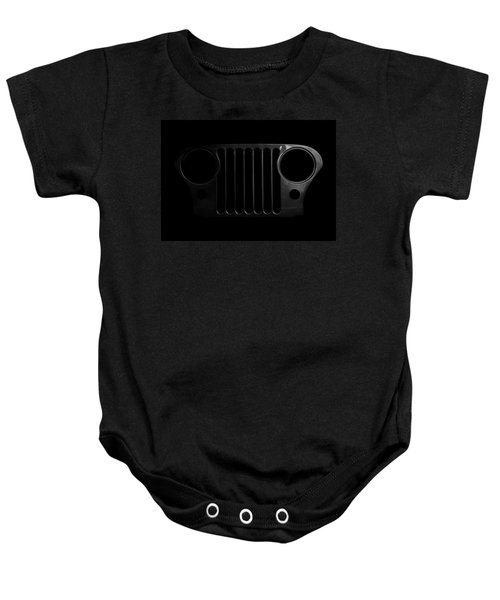 Cj Grille- Fade To Black Baby Onesie