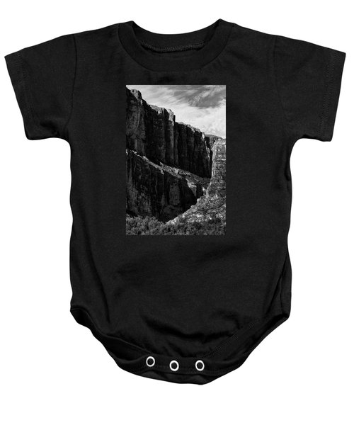 Cliffs In Contrast Baby Onesie