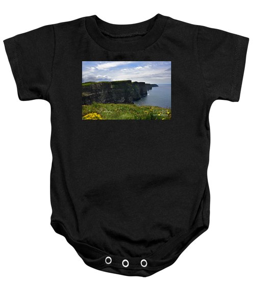 Cliffs Of Moher Looking South Baby Onesie