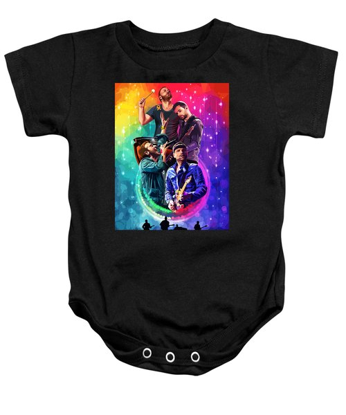 Coldplay Mylo Xyloto Baby Onesie by FHT Designs