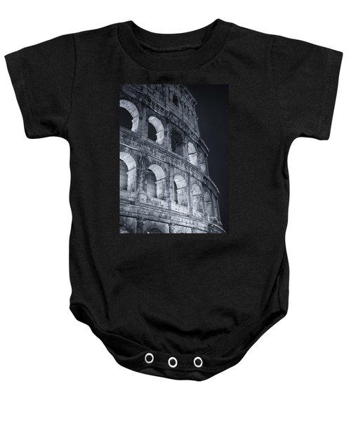 Colosseum Before Dawn Baby Onesie