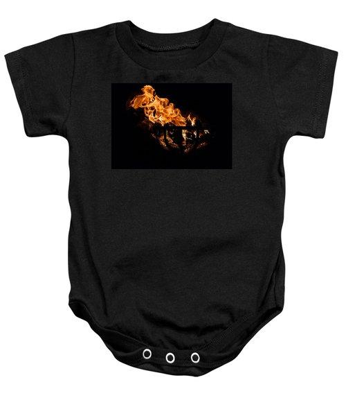 Fire Cresset Two Baby Onesie