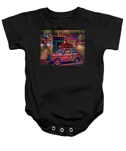 Color On The Road In Krakow- Poland Baby Onesie