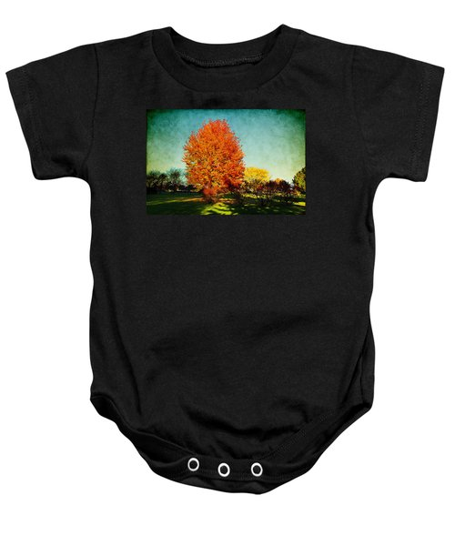Colorful Autumn Baby Onesie