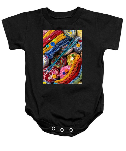Colorful World Of Art And Craft Baby Onesie