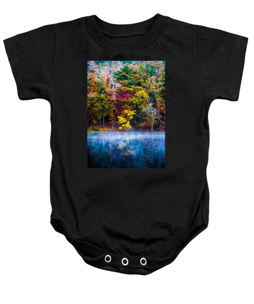 Colors In Early Morning Fog Baby Onesie
