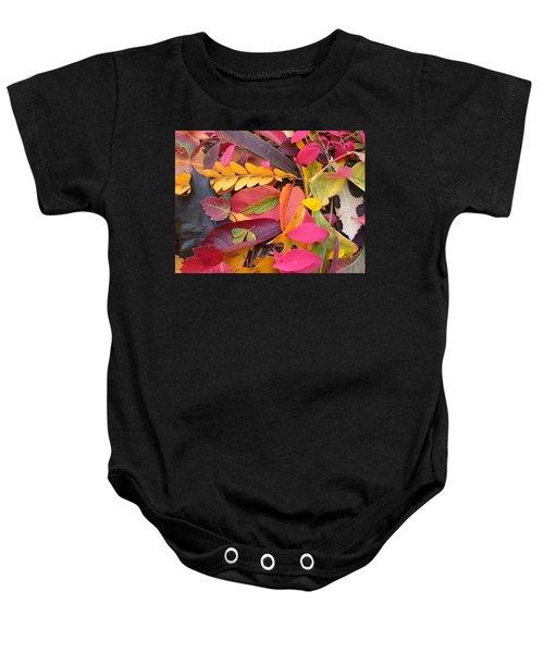 Colors Of Autumn Baby Onesie