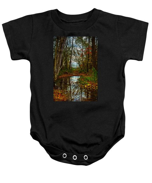 Colors Of Fall Baby Onesie
