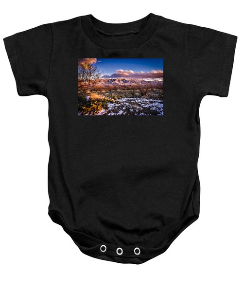 Baby Onesie featuring the photograph Colors Of Winter by Mark Myhaver