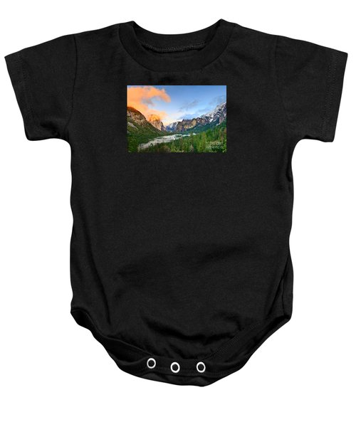 Colors Of Yosemite Baby Onesie by Jamie Pham