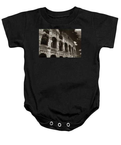 Colosseum Wall Baby Onesie