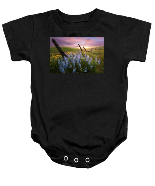 Columbia Hills Sunset Baby Onesie