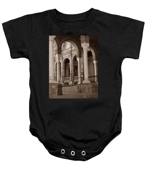 Columns And Arches Baby Onesie