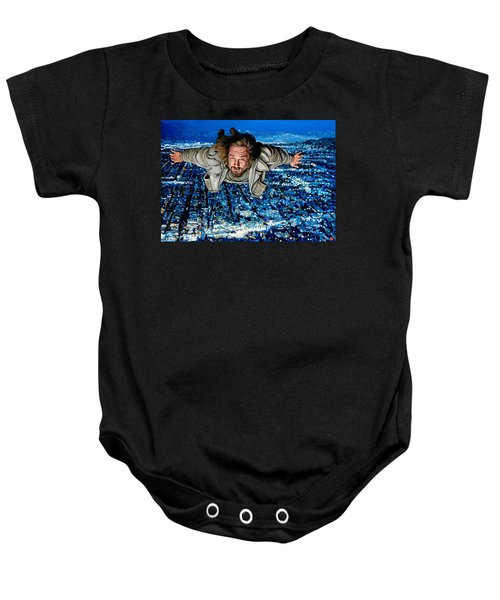 Come Fly With Me Baby Onesie