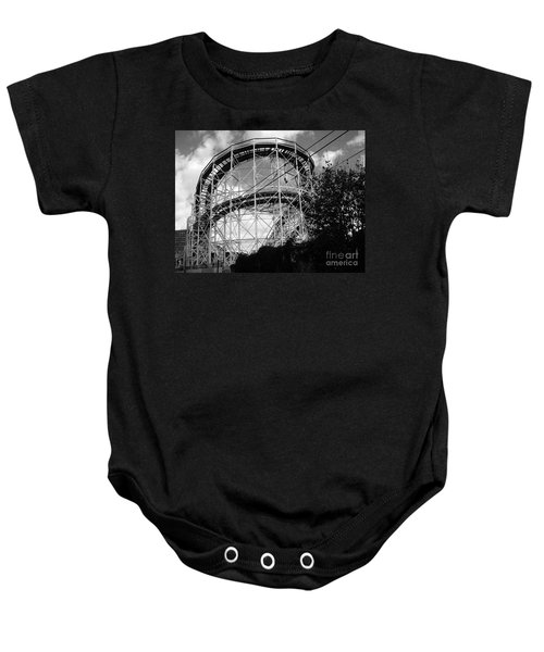 Coney Island Roller Coaster Baby Onesie