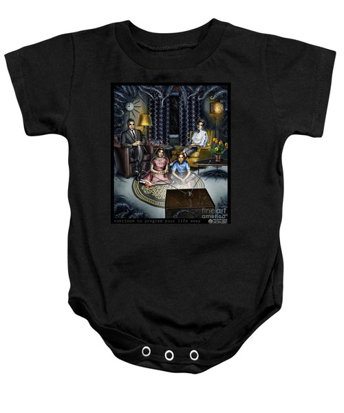 Continue To Program Your Life Away Baby Onesie