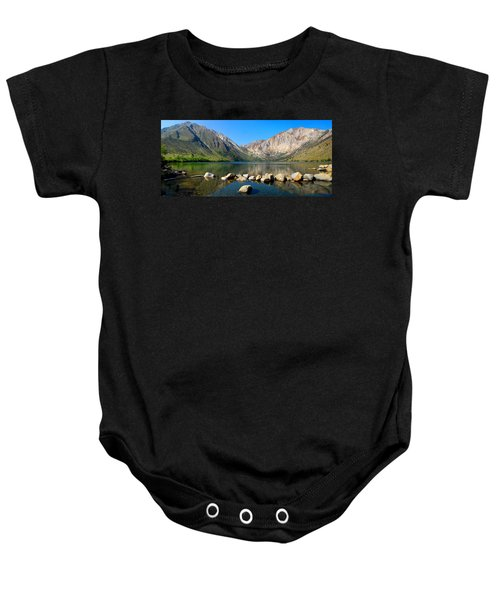 Convict Lake Panorama Baby Onesie