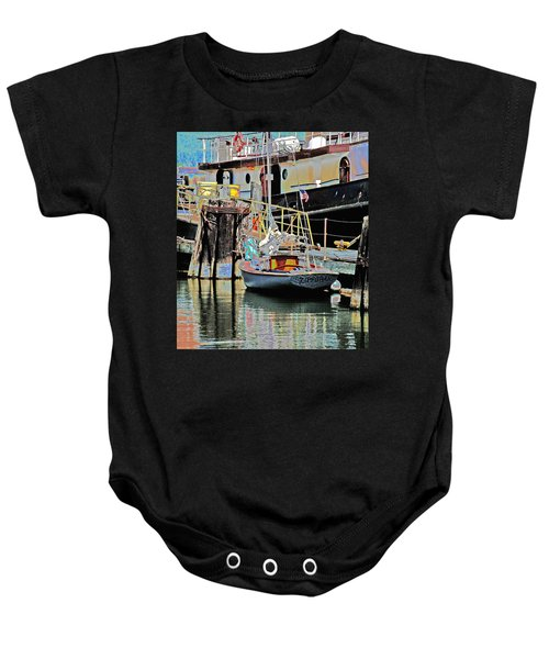 Coos Bay Harbor Baby Onesie