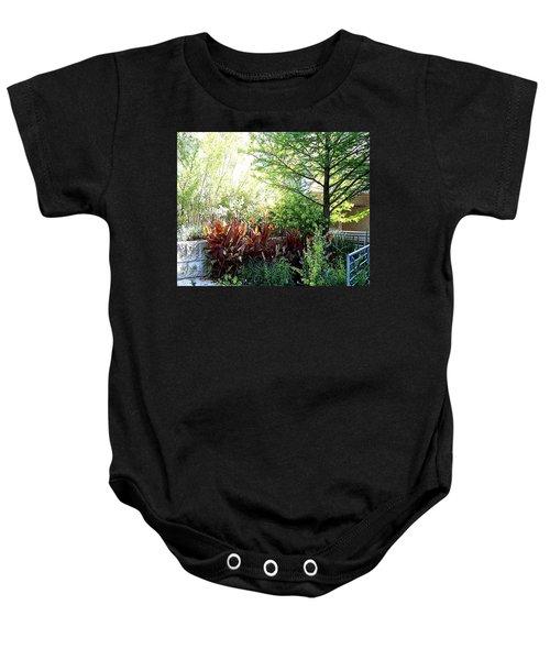 Corner Garden Baby Onesie