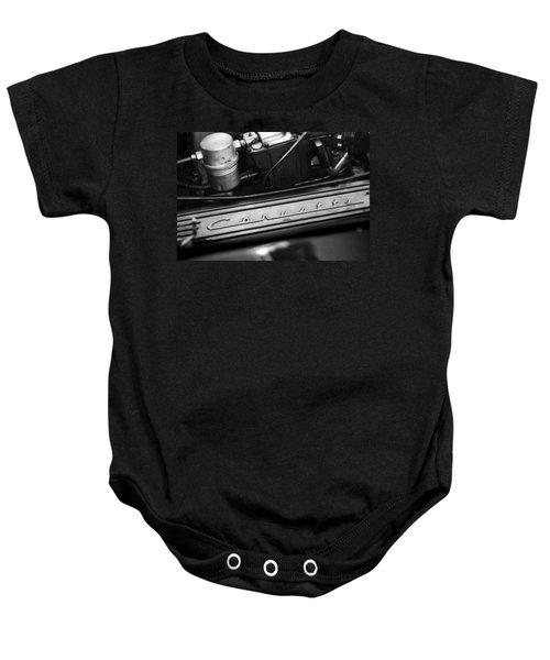 Corvette Valve Cover Baby Onesie