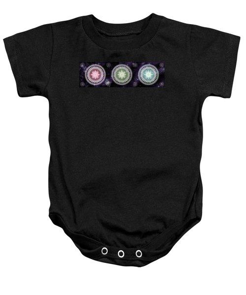 Cosmic Medallians Rgb 2 Baby Onesie