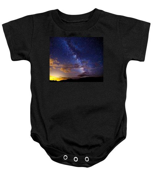 Cosmic Traveler  Baby Onesie