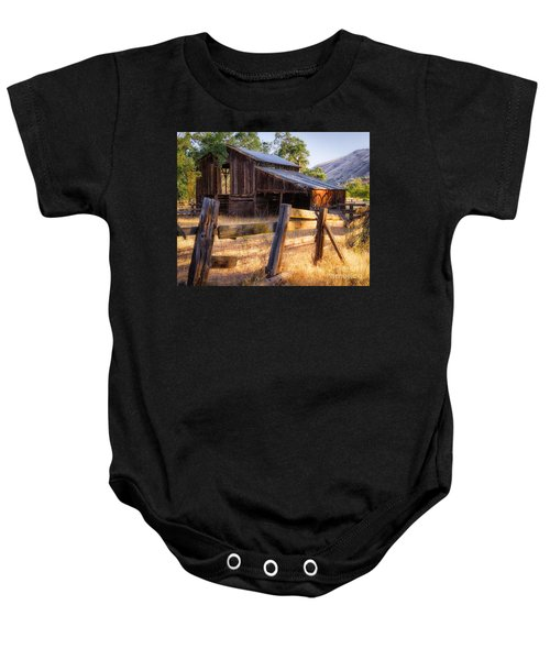 Country In The Foothills Baby Onesie