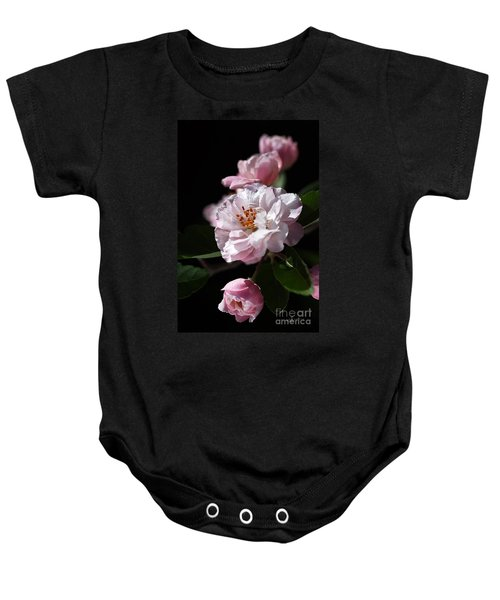 Crabapple Flowers Baby Onesie