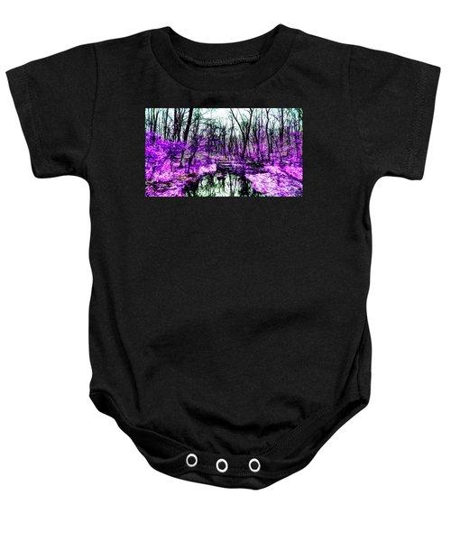 Creek By Purple Baby Onesie