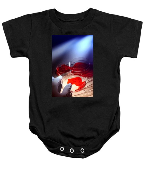 Crime Lab Baby Onesie