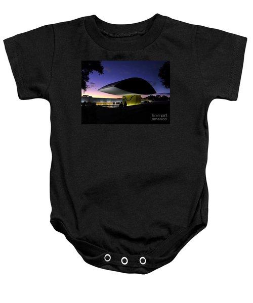 Curitiba - Museu Oscar Niemeyer Baby Onesie