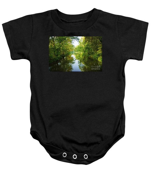 D And R Canal  Baby Onesie