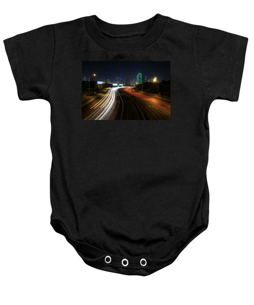 Dallas Night Light Baby Onesie