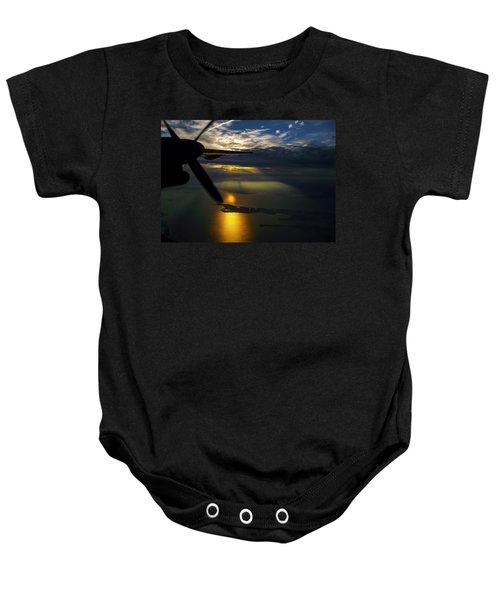 Dash Of Sunset Baby Onesie