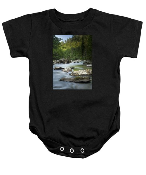 Daybreak In The Valley Baby Onesie
