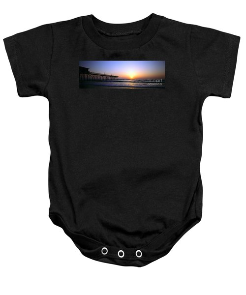 Daytona Sun Glow Pier  Baby Onesie