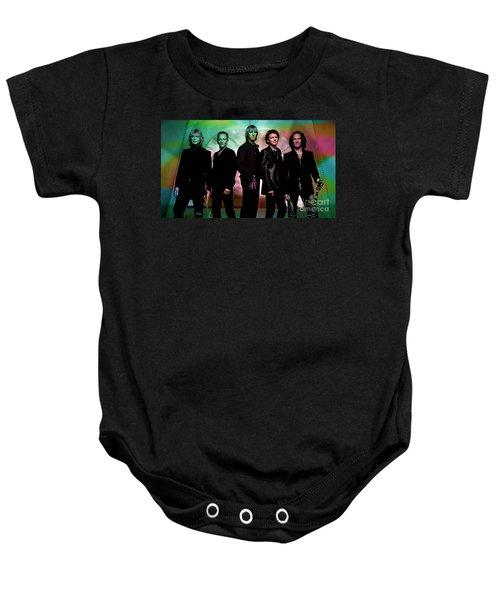Def Leppard Baby Onesie