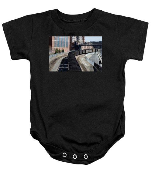 Denver Rail Yard Baby Onesie