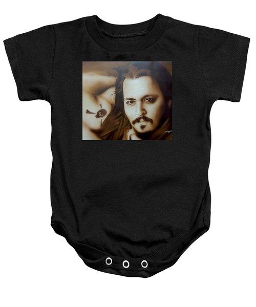 Depp II  Baby Onesie