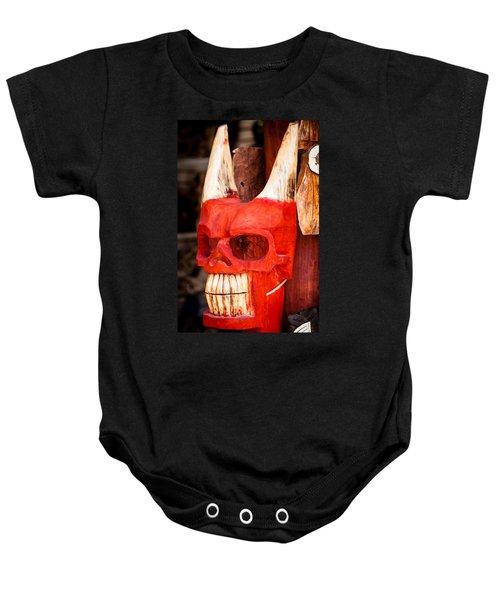 Devil In The Details Baby Onesie