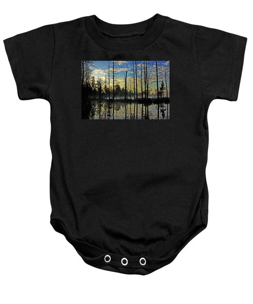Devils Den In The Pine Barrens Baby Onesie