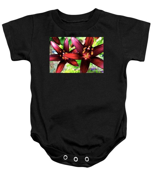 Dimension Lily 2 Baby Onesie by Jacqueline Athmann