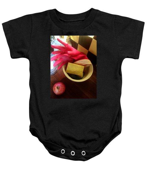 Domesticity Baby Onesie