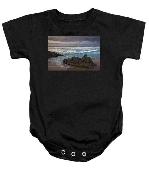 Doninos Beach Ferrol Galicia Spain Baby Onesie