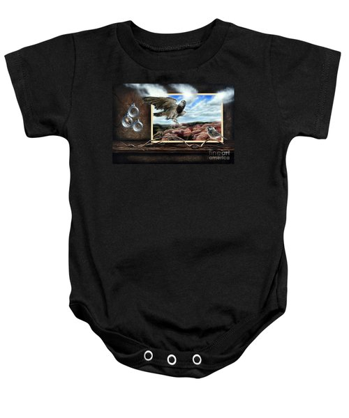 Don't Breathe  Baby Onesie