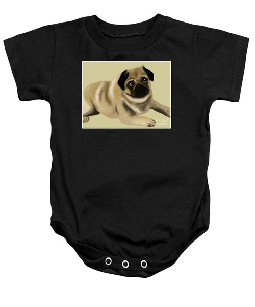 Doug The Pug Baby Onesie