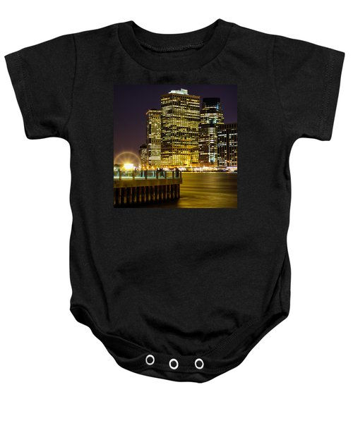 Downtown Lights Baby Onesie