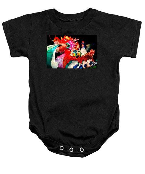 Dragon Float Baby Onesie