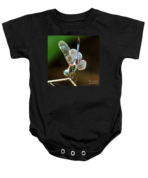 Dragonfly Headstand Baby Onesie